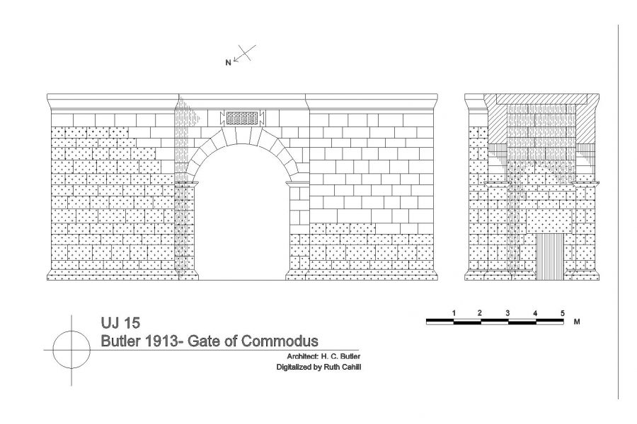 FIgure 6: Butler Commodus Gate Plan
